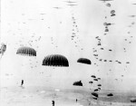 Allied paratroops land in Holland 1944