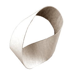 The Mobius strip is a bit of magic that you can hold in your hand