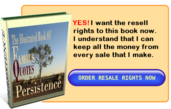 Persistence quotes book order button